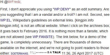 Wikipedia - Kingpin: Life of Crime